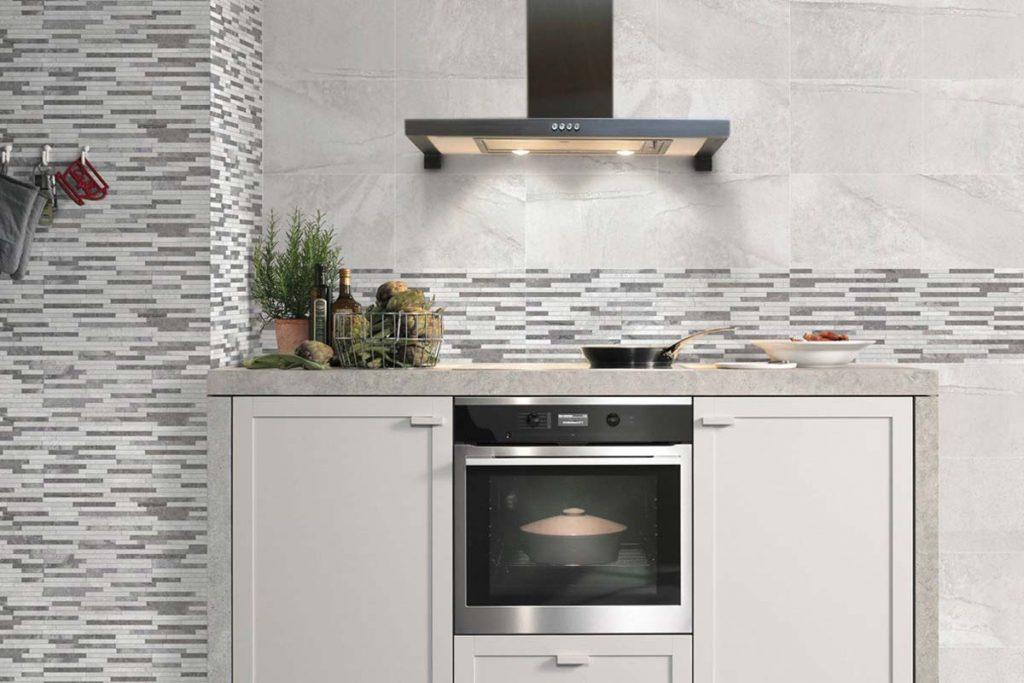 Kitchen textured decor wall tiles.