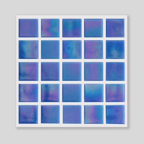 Lustre Pearl Zaffre Glass Mosaics