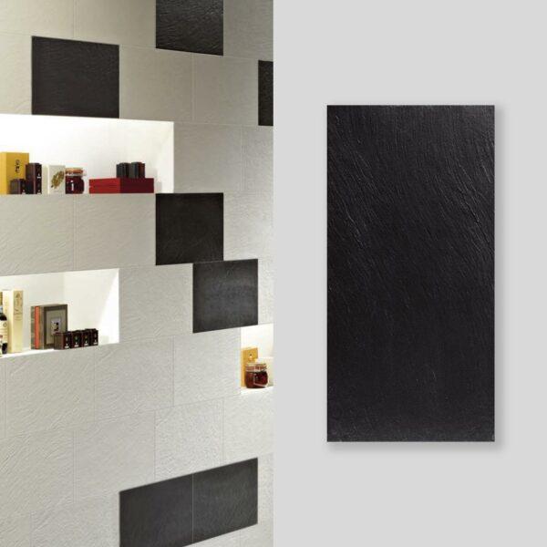 Titan Preto 30x60cm Tile with set shot