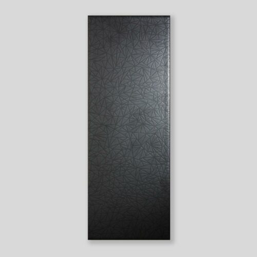 Tones Charcoal Matt Polygon - Glazed Ceramic Tile